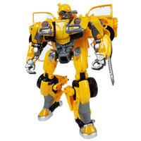 黑曼巴 变形玩具金刚5 合金版大黄蜂儿 黑-黄蜂勇士21cm