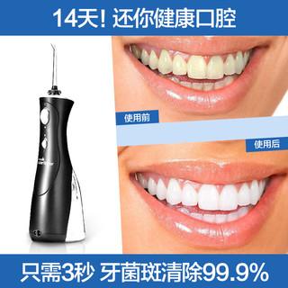 waterpik 洁碧  WP-462EC 便携式冲牙器家用电动洗牙器洁 (黑色)