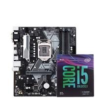 Intel 英特尔 酷睿 I5 9600K F盒装搭 华硕 B365M-A 主板套装