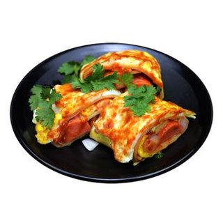 华田禾邦 东北朝鲜烤冷面 700g/袋 方便面 小吃 含两袋酱包 香辣+酸甜 1袋干料 南北方人群不同口味