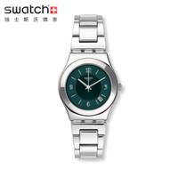斯沃琪(Swatch)瑞士手表金属系列新品硬朗银晖商务简约石英男表YLS468G