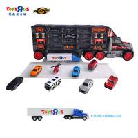 玩具反斗城 大货柜车 含10合金小汽车 收纳车模套装 27002 *2件