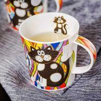 DUNOON 丹侬  小猫咪系列 骨瓷马克杯 320ml