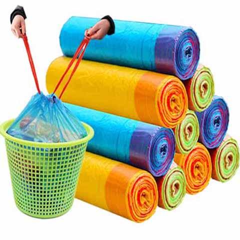 抽绳式垃圾袋 45*40cm 3卷装 共45只