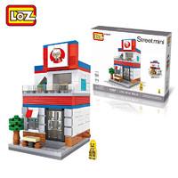 LOZ 俐智 街景系列玩具6-14岁塑料小颗粒 #1605k记店(467颗粒)