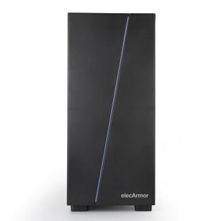 elecArmor 电铠 DK104 黑色中塔式机箱