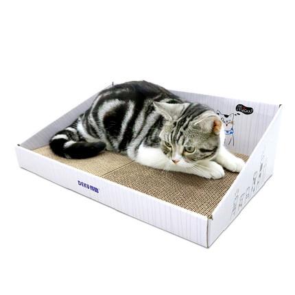 得酷 彩盒猫抓板
