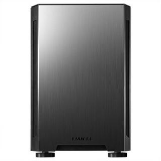 LIANLI 小犀牛TU150 黑色 联力铝合金小机箱 便携性提手/支持ITX主板、SFX电源、165mm散热器、120水冷