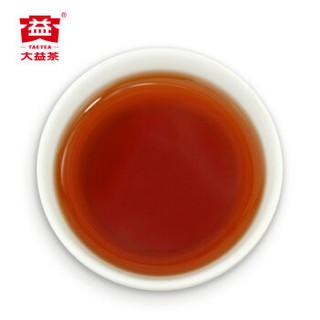 大益(TAETEA)普洱茶饼茶 7572标杆熟茶提装357g*7 中华老字号1801批次