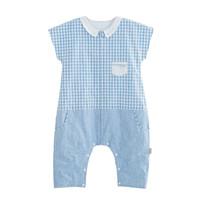 良良(liangliang)婴儿睡袋乐优麻棉夏季分腿睡袋蓝色85*39cm