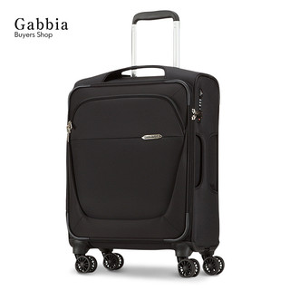 Samsonite 新秀丽 万向轮软布箱拉杆箱行李箱 (黑色、23寸)