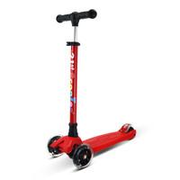 21st Scooter 米多 RO203 儿童滑板车三轮四轮闪光 (红色)