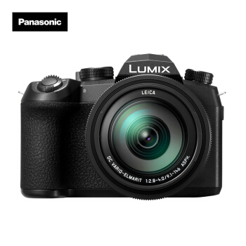 Panasonic 松下 DC-FZ10002GK 数码相机  徕卡25-400mm镜头 4K全家桶 WIFI (黑色、1英寸)