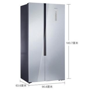 SIEMENS 西门子 KX50NA43TI 502升变频对开门冰箱双开门