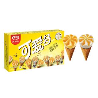 京东PLUS会员 : WALL'S 和路雪 芒果&酸奶口味 迷你可爱多甜筒 10支装 200g *9件