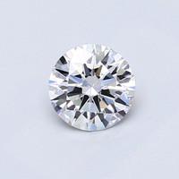 Blue Nile 0.52克拉 圆形切割钻石(切工EX,成色D,净度IF)