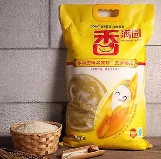 香满园 御品国珍 稻花香大米 8kg *2件