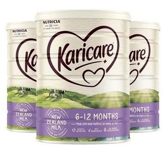 Karicare 可瑞康牛奶粉2段 900g * 3罐