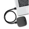 ASZUNE 艾苏恩 数据线两头公对公散热器移动硬盘机顶盒子 (黑色、1m)