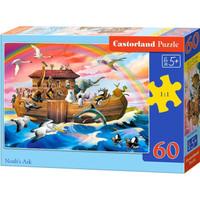 Castorland 巧思 066186 波兰进口儿童拼图60片系列拼图 诺亚方舟