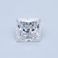 Blue Nile 0.51克拉 公主方形钻石