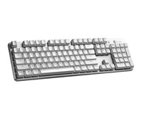 Gamesir 盖世小鸡 GK300 电竞蓝牙2.4G双连接机械键盘 (红轴、白色)