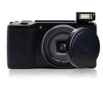 RICOH 理光 GR2 数码相机grii卡片机 照相机 标配+镜头盖 (黑色)