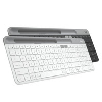 Logitech 罗技 K580 无线蓝牙键盘 (白色)