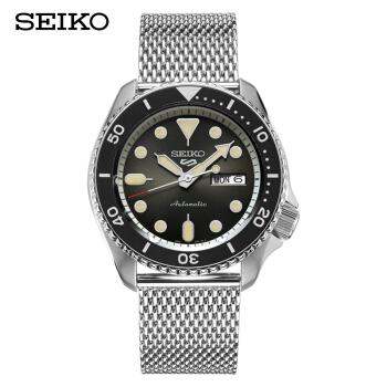 SEIKO 精工 SRPD73K1 新盾牌5号系列100米防水自动机械男表 (41-43mm、其它、棕色、圆形)