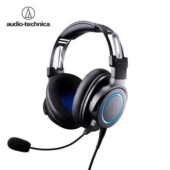 audio-technica 铁三角 ATH-G1 多功能音乐耳机 头戴式耳麦 专业电竞游戏耳机 (黑色)