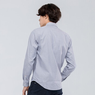 【经典款】Timberland添柏岚男装户外休闲修身长袖衬衫|8322J 8322JB06/蓝色 XXL