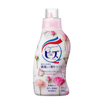 Kao 花王 天然柔顺洗衣液 玫瑰花果香 820g