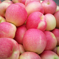 皇脆 山西脆甜冰糖心红富士苹果  约75-95mm 10斤装