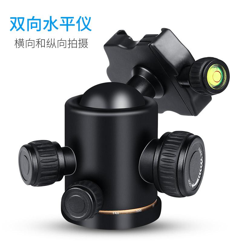 轻装时代 QZSD-02 单反相机球型水平仪微锁阻尼标杆滑轨云台