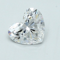 Blue Nile 0.94克拉 心形切割钻石(切工VG,成色D,净度VVS2)