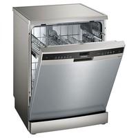 SIEMENS 西门子 SJ256I16JC 半嵌式洗碗机 (银色、12套、9.7L、喷淋式)