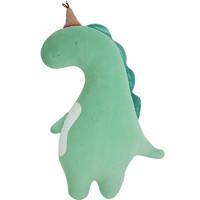 蓝白玩偶 恐龙公仔ins 网红抱枕 小毛绒玩具
