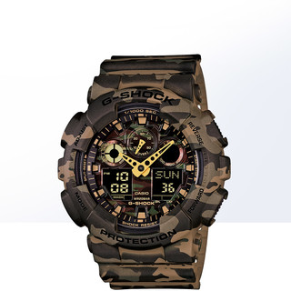 CASIO 卡西欧 G-Shock系列 GD-100-1BDR 运动电子表