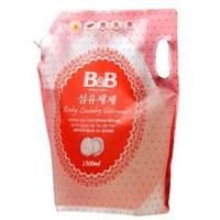 保宁(B&B) 婴幼儿新生儿童专用洗涤剂袋装 1500ml *10件