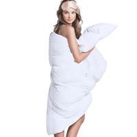 SIDANDA 诗丹娜 95白鹅绒冬被 保暖羽绒被冬被100支全棉缎纹加厚