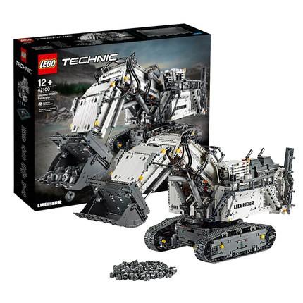 LEGO 乐高 机械组系列 42100 利勃海尔R 9800挖掘机