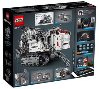 LEGO 乐高 机械组系列 42100 利勃海尔R9800挖掘机