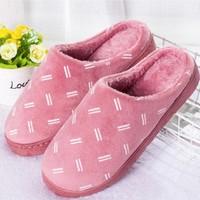 浪漫桥 冬季棉拖鞋