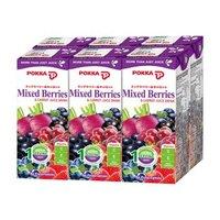 马来西亚进口 日本POKKA 浆果胡萝卜混合蔬果汁 250ml*6瓶 超值分享装 *14件