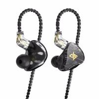 AUGLAMOUR 徕声  T100 入耳式有线HiFi通用运动手机 透黑色
