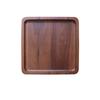 舍里 0206 高档木质托盘 黑胡桃木茶托盘长方形