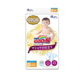 GOO.N 大王 棉花糖系列 通用纸尿裤 M46片