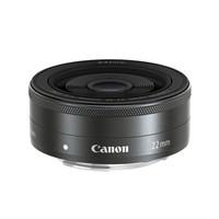 Canon 佳能 EF-M 22mm f/2 STM EOS M 微单人像定焦镜头 黑色