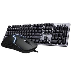 HP 惠普 GK100 机械键盘 + Gaming-M100 键鼠套装