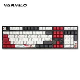 阿米洛(Varmilo)花旦娘 机械键盘 VA108键 cherry茶轴